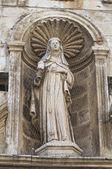 St. Chiara Church. Acquaviva delle Fonti. Puglia. Italy. — Stock Photo