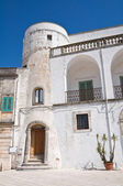 Amati tower. Cisternino. Puglia. Italy. — 图库照片