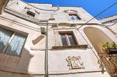 Palais de devitofranceschi. cisternino. puglia. italie. — Photo