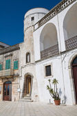 Amati tower. Cisternino. Puglia. Italy. — Foto de Stock