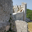 Castle of Monte Sant'Angelo. Puglia. Italy. - Stock Photo