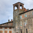 Stock Photo: AnguissolCastle. Travo. Emilia-Romagna. Italy.