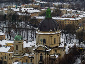 Dominican Church, L'viv — Stock Photo