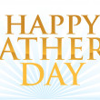 Happy fathers day illustration design — Stock Photo #9308129
