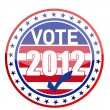United States of America Elections pins — Foto Stock