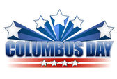 Columbus day illustration design on white — Stock Photo