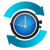 Time constant movement concept illustration design — Stock Photo