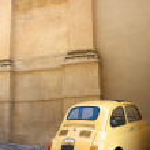 Vintage Italian Car — Stock Photo #9924689