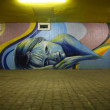 Photo: Graffiti at night
