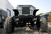 Off Road Vehicle Front End — Stock Photo