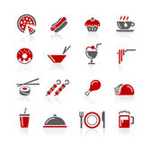Food Icons / Set 2 of 2 // Redico Series — Stock Vector