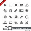 Royalty-Free Stock Vector Image: Computer Icons // Basics