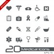 Medical Icons // Basics — Stock Vector #10535206