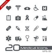 медицинские иконки / / основы — Cтоковый вектор