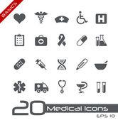 Icônes médicales // bases — Vecteur