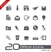 Office & Business Icons // Basics — Stock Vector