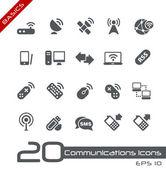 Conceptos básicos de comunicaciones inalámbricas  — Vector de stock