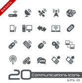 Wireless Communications // Basics — Wektor stockowy