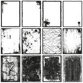 Frames & Textures — Stock Vector