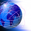 Global Internet communications technology - Stock Photo