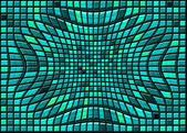 Abstract distortion tiled background — Stock Photo