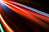 Abstract colorful trails — Stock Photo