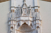 Fragment wall ornament antique church Italy — Foto Stock