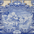 Stock Photo: Blue tiles, Azulejos, Lisbon,Portugal