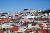 Panorama vue oiseau de baisha Lisbonne — Photo