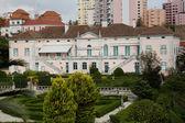 Parque no jardim zoológico de Lisboa — Fotografia Stock