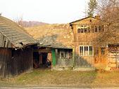 Eski ahşap çiftlik — Stok fotoğraf