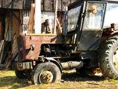 Old farm tractors — Stock Photo