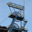 Coal mine - shaft tower. — Stock Photo