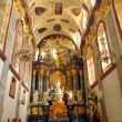 Interior of the Basilica of Jasna Gora in Czestochowa — Foto Stock