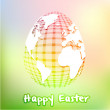 Global easter — Stock Vector
