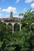 Fribourg Switzerland — Stock Photo