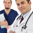 Smiling medical professionals — Stock Photo