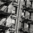 Fire escape — Stock Photo #8340642