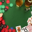 Gambling table background — Stock Photo