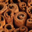 Cinnamon background — Stock Photo