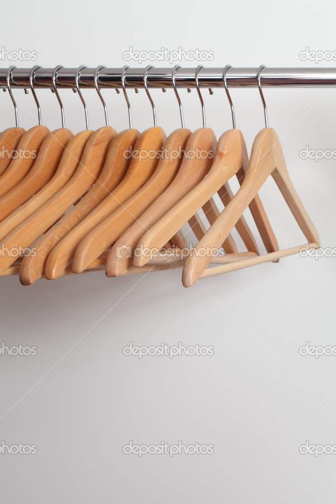Clothes Hangers Stock Photo Sumners 8888522