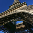 Looking up at the Eiffel Tower — Stock Photo #9066769
