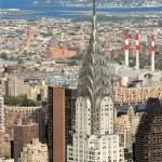 Chrysler Building in New York City — Stock Photo