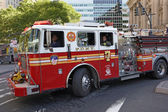 Fire Engine in New York — Stock Photo