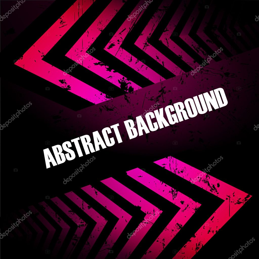 Abstract colored background with arrows. Clip-art  Stock Vector #8038590