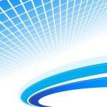 astratto sfondo blu. illustrazione vettoriale — Vettoriale Stock
