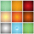 Abstract background. Vector Collection - Stock Vector
