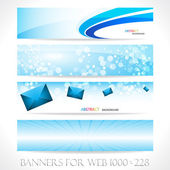 Banners for web (Vector collection6) — Stockvektor
