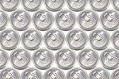 Many cans of cold beer — Stock Photo