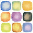 Watercolor elements — Stock Photo